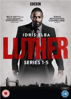 Luther - Series 1-5 (BBC, 9 DVDs)