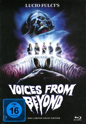 Voices from Beyond (1991) (Cover A, Limited Edition, Mediabook, Uncut, Blu-ray + DVD)