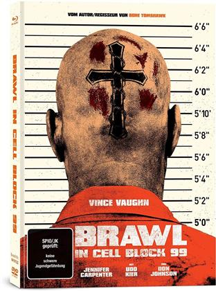 Brawl in Cell Block 99 (Uncut) (2017) (Limited Edition, Mediabook, Uncut, Blu-ray + DVD)