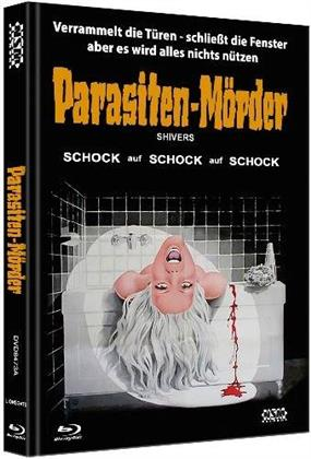 Parasiten-Mörder - Shivers (1975) (Cover A, Limited Edition, Mediabook, Blu-ray + DVD)