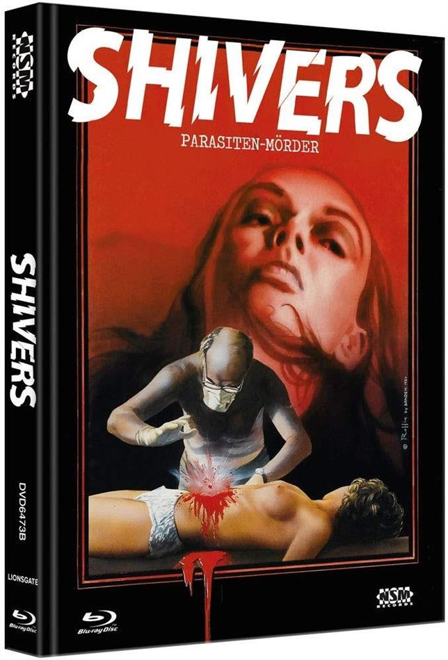 Shivers - Parasiten-Mörder (1975) (Cover B, Limited Edition, Mediabook, Blu-ray + DVD)