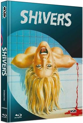 Shivers (1975) (Cover C, Limited Edition, Mediabook, Blu-ray + DVD)
