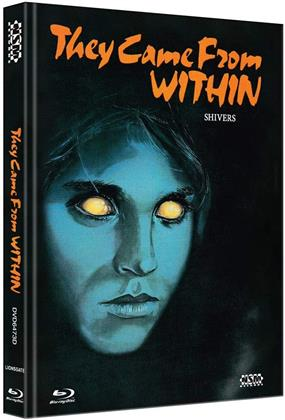 They Came From Within - Shivers (1975) (Cover D, Limited Edition, Mediabook, Blu-ray + DVD)