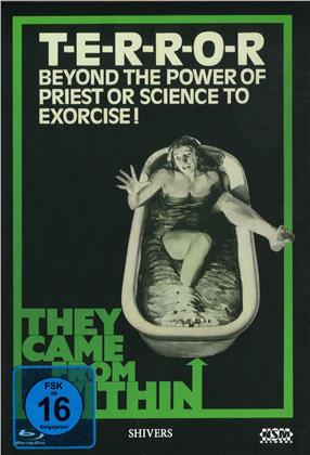 They Came From Within - Shivers (1975) (Cover E, Limited Edition, Mediabook, Blu-ray + DVD)