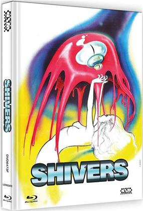 Shivers (1975) (Cover F, Limited Edition, Mediabook, Blu-ray + DVD)