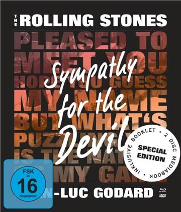The Rolling Stones - The Rolling Stones - Sympathy For The Devil (Mediabook, Special Edition, Blu-ray + DVD)
