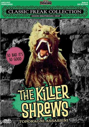 The Killer Shrews - Toporagni assassini (1959) (Classic Freak Collection, Uncut Edition, n/b, Versione Rimasterizzata)