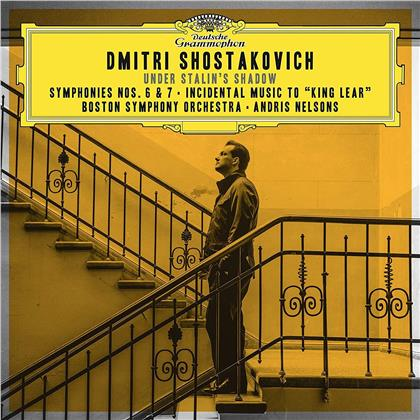 Dimitri Schostakowitsch (1906-1975), Andris Nelsons & Boston Symphony Orchestra - Under Stalin's Shadow - Symphonien Nr. 6 & 7 / King Lear (2 CDs)
