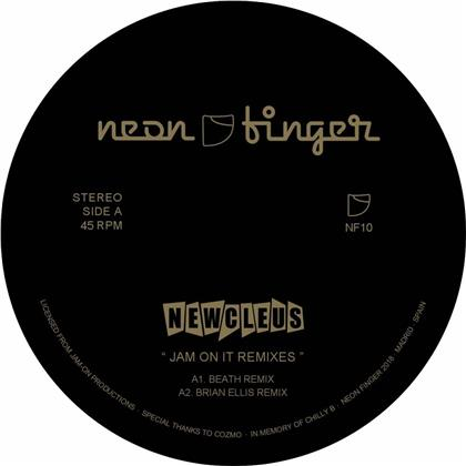 Newcleus - Jam On It Remixes (LP)