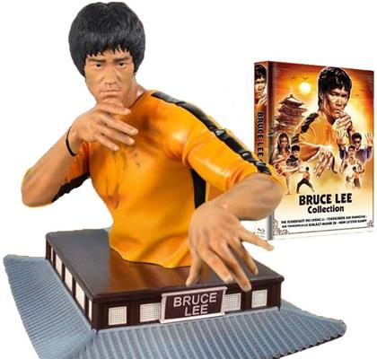 Bruce Lee Collection (+ Büste, Limited Edition, Mediabook, 4 Blu-rays)