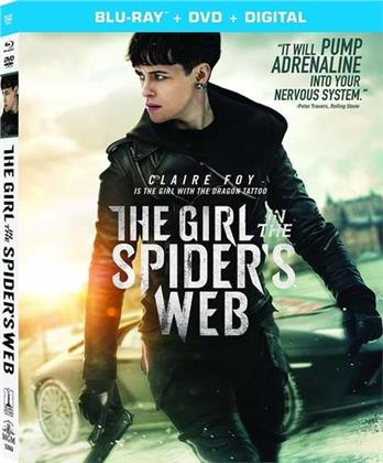 The Girl in the Spider's Web (2018) (Blu-ray + DVD)