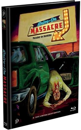 Drive-In Massacre - Massaker im Autokino (1977) (Cover A, Limited Edition, Mediabook, Uncut, Blu-ray + DVD)
