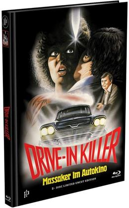 Drive-In Killer - Massaker im Autokino (1977) (Cover B, Limited Edition, Mediabook, Uncut, Blu-ray + DVD)