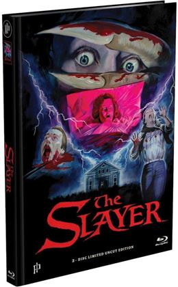 The Slayer (1982) (Cover A, Limited Edition, Mediabook, Uncut, Blu-ray + DVD)