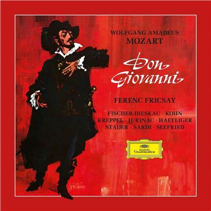 Wolfgang Amadeus Mozart (1756-1791) & Ferenc Friscsay - Don Giovanni - Blu-Ray pure Audio (Deluxe Edition, 3 CDs + Blu-ray)