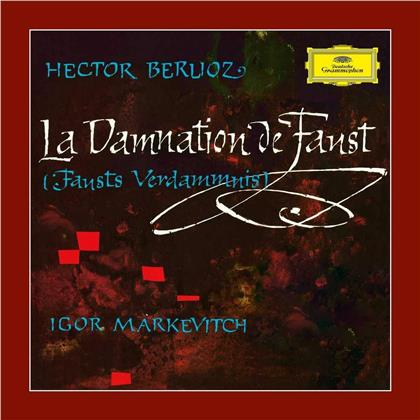 Charles François Gounod (1818-1893), Igor Markevitch & Orchestre Des Concerts Lamoureaux - La Damnation De Faust - Blu-ray Pure Audio (Deluxe Edition, 2 CDs + Blu-ray)