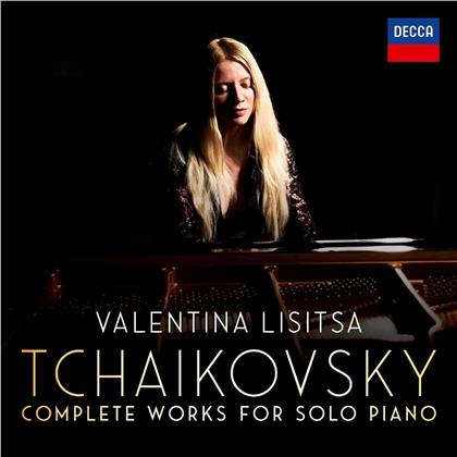 Peter Iljitsch Tschaikowsky (1840-1893) & Valentina Lisitsa - Complete Solo Piano Works (10 CDs)