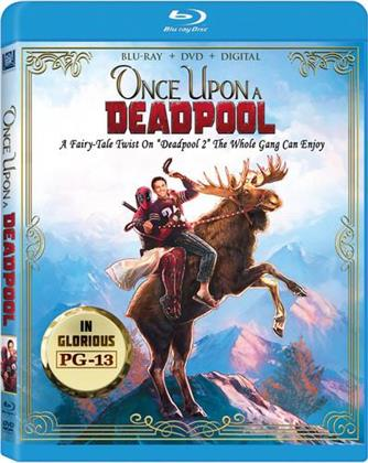 Deadpool 2 - Once Upon A Deadpool (2018) (Blu-ray + DVD)