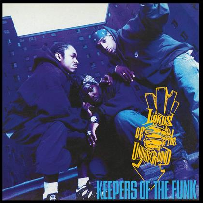 Lords Of The Underground - Keepers Of The Funk (Music On Vinyl, 2019 Reissue, Transparent Blue Vinyl, 2 LPs)