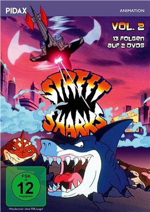 Street Sharks - Vol. 2 (Pidax Animation, 2 DVDs)
