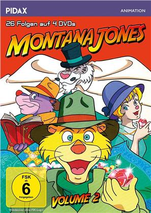 Montana Jones - Vol. 2 (Pidax Animation, 4 DVDs)