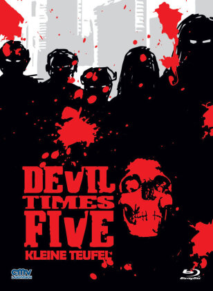 Devil Times Five - Kleine Teufel (1974) (Cover B, Limited Edition, Mediabook, Uncut, Blu-ray + DVD)