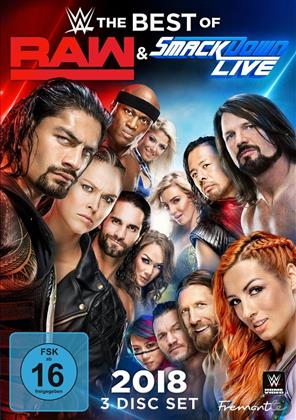 WWE: The Best of Raw and Smackdown 2018 (3 DVDs)