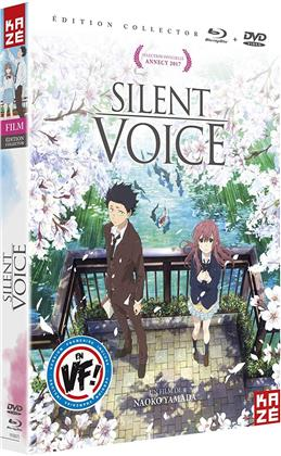 Silent Voice (2016) (Collector's Edition, Blu-ray + DVD)