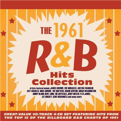 The 1961 R&B Hits Collection (4 CDs)