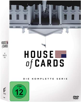 House of Cards - Die komplette Serie (23 DVDs)