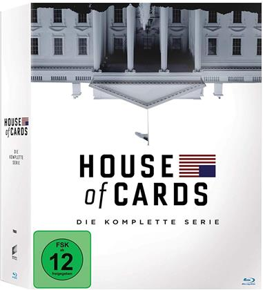 House of Cards - Die komplette Serie (23 Blu-rays)