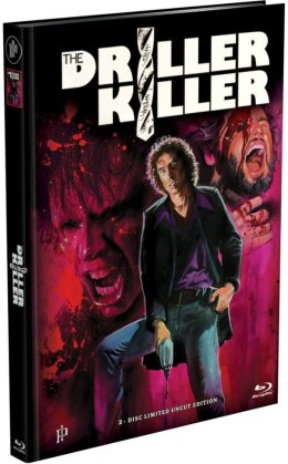 The Driller Killer (1979) (Limited Edition, Mediabook, Uncut, Blu-ray + DVD)