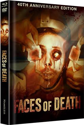 Faces of Death (1978) (Cover A, 40th Anniversary Edition, Limited Edition, Mediabook, Uncut, Blu-ray + DVD)