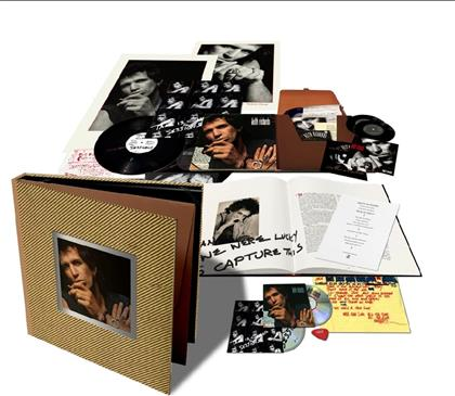 "Keith Richards - Talk Is Cheap (2019 Reissue, Super Deluxe Box Set, 2 LPs + 2 7"" Singles + 2 CDs)"
