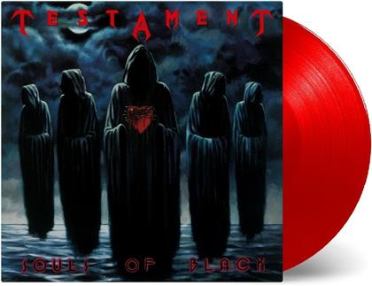 Testament - Souls Of Black (Music On Vinyl, 2019 Reissue, Red Vinyl, LP)