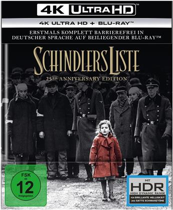 Schindlers Liste (1993) (25th Anniversary Edition, 4K Ultra HD + 2 Blu-rays)