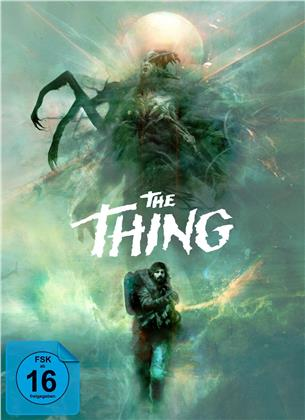 The Thing (1982) / The Thing (2011) (Deluxe Edition, Edizione Limitata, Uncut, 3 Blu-ray + CD)