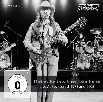 Dickey Betts & Great Southern - Live At Rockpalast 1978 And 2008 (CD + DVD)
