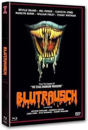 Blutrausch (1976) (Cover D, Limited Edition, Mediabook, Uncut, Blu-ray + DVD)