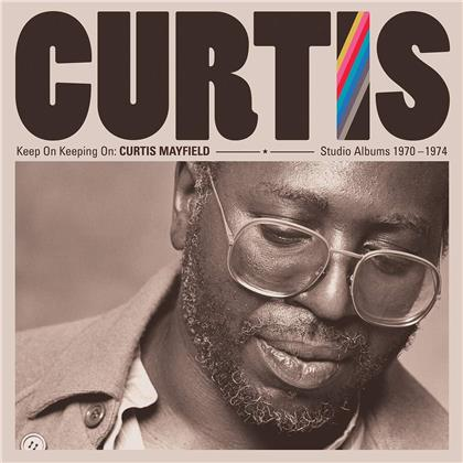 Curtis Mayfield - Keep On Keepin' On: Curtis Mayfield Studio Albums (4 CDs)