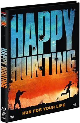 Happy Hunting (2017) (Cover A, Limited Edition, Mediabook, Ultimate Edition, Uncut, Blu-ray + DVD)