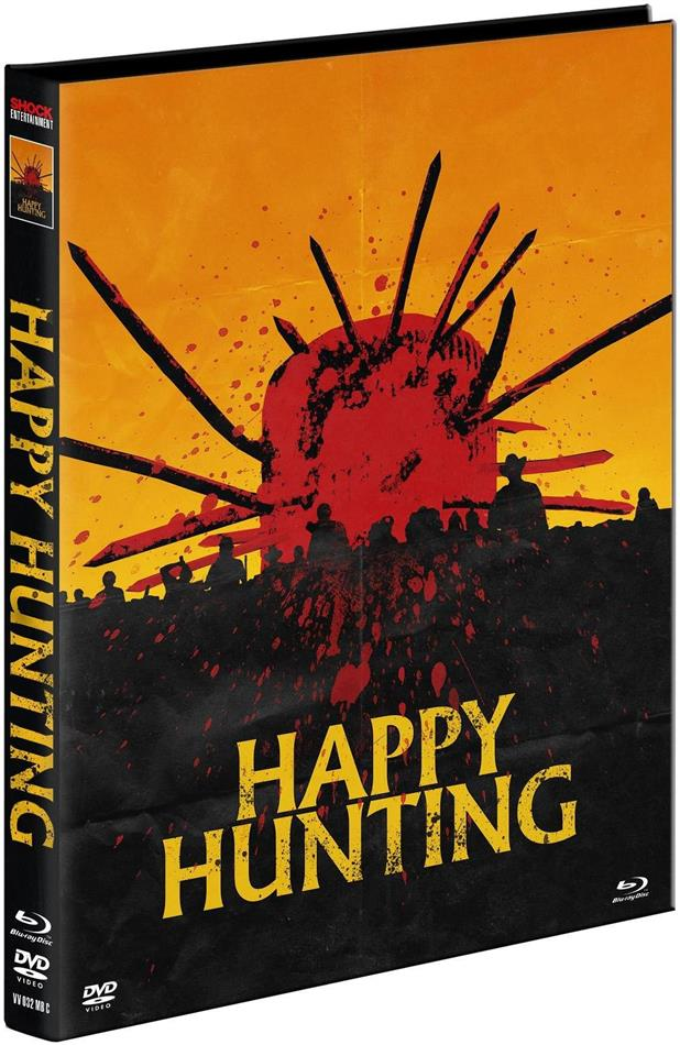Happy Hunting (2017) (Cover C, Limited Edition, Mediabook, Ultimate Edition, Uncut, Blu-ray + DVD)