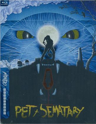 Pet Sematary (1989) (Mondo X Collection, Limited Edition, Steelbook, Blu-ray + DVD)