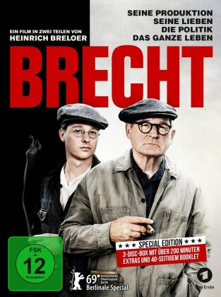 Brecht (2019) (Special Edition, Blu-ray + 2 DVDs)