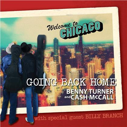 Cash McCall & Benny Turner - Going Back Home (Digipack)