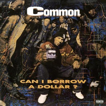 Common - Can I Borrow A Dollar (2019 Reissue, Music On Vinyl, Transparent Vinyl, LP)