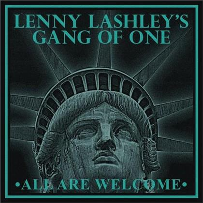 Lenny Lashley's Gang Of One - All Are Welcome (Green & Gold Vinyl, LP)