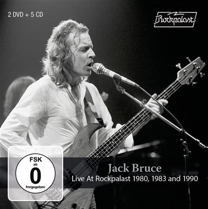 Jack Bruce - Live At Rockpalast 1980, 1983 and 1990 (CD + DVD)