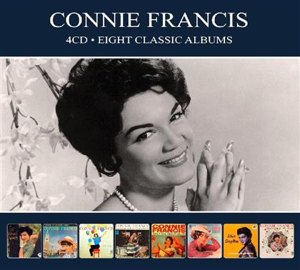 Connie Francis - 8 Classic Albums (Digipack, 4 CDs)