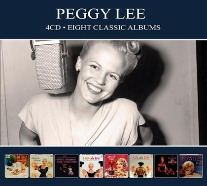 Peggy Lee - 8 Classic Albums (Digipack, 4 CDs)